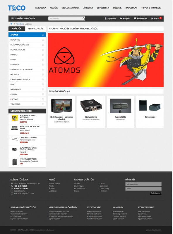 05b7f97827 Referenciák, honlapok és webáruházak